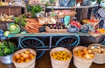 local produce at singh meadows