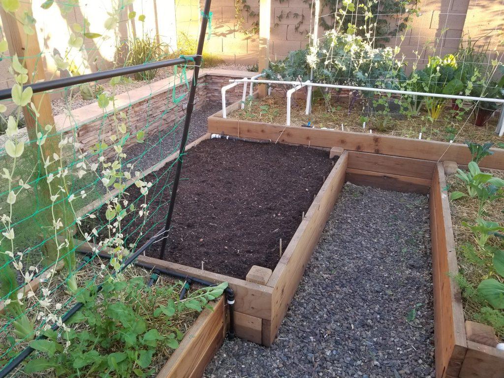 Ready garden bed